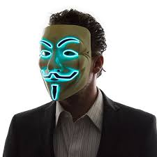 Guy Fawkes Mask Halloween by Light Up Guy Fawkes Mask Moar Stuff You Don U0027t Need It But You