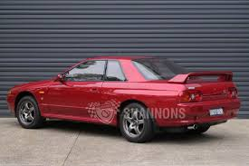 nissan australia sold nissan skyline r32 gt r coupe 1 of 100 australian delivered