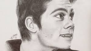 jonathan dylan dylan o u0027brien speed drawing youtube