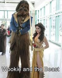 Chewbacca Halloween Costumes 24 Greatest Pop Culture Halloween Costume Mashups