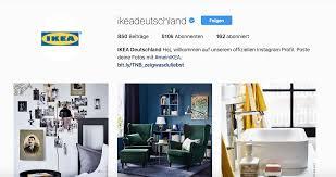 bureau olier ikea 3 corporate social accounts not to miss