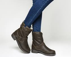 casual biker boots office auto casual biker boots brown suede ankle boots