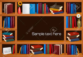 wooden bookshelves royalty free cliparts vectors and stock
