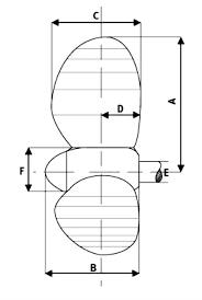 variprop 4 blade ab marine