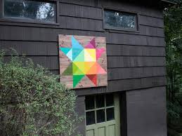how to make a modern barn quilt how tos diy