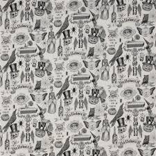 light henry fabric skeleton trickery