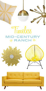 Mid Century Ranch Homes 1716 Best Furnish Images On Pinterest Furniture Collection