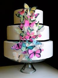 butterfly cake toppers edible butterflies cake cupcake toppers butterfly