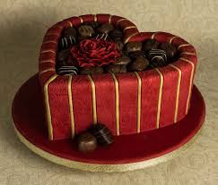 red and gold chocolate box cake cakecentral com