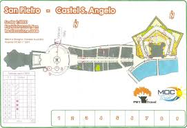 Vatican City Map Orienteering Maps From Italy