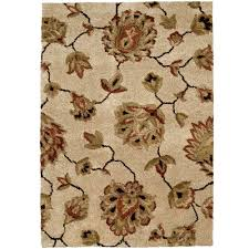 home decorators area rugs home decorators collection vintage bisque 5 ft 3 in x 7 ft 6 in