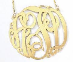 Monogram Jewlery Monogram 14k Gold Jewelry Monogram Jewelry Be Monogrammed
