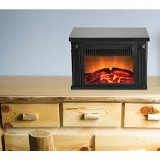 electric fireplace black binhminh decoration