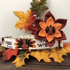 collar collar flower thanksgiving collar turkey
