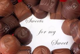 chocolates for s day for my sweet chocolate candy with note s