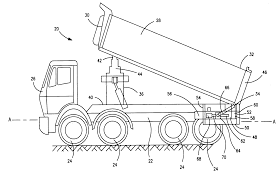 patent us20120001473 bed leveling system for dump truck google