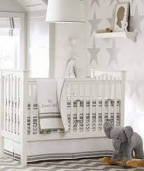 White Nursery Decor by Astonishing Baby Bedding Set From Pottery Barn Baby Nursery Rabelapp