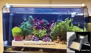 Refugium Light Reef Aquarium Filtration Aquafuge External Hang On Refugium
