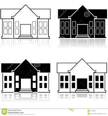 Different Color Schemes Fancy House Stock Illustration Image 51942809
