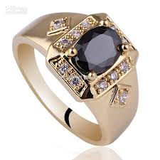 men rings prices images Men wide cross shape black onyx gold finish s925 sterling silver jpg