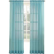 Sheer Coral Curtains Coral And Turquoise Curtains Wayfair