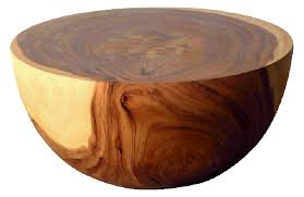 circle wood coffee table the most natural acacia coffee table top 31 12 rona throughout