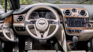 bentley bentayga v8 d interior youtube