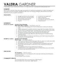 retail sales manager resume experience resume retail exles assistant store manager resume exle