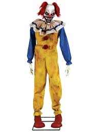 amazon com twitching clown animated halloween prop animated