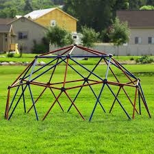 kids outdoor dome climber large climbing play set backyard