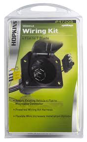 amazon com hopkins 47205 4 wire flat adapter automotive