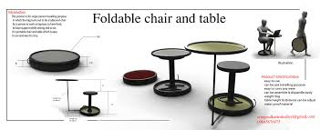 small foldable table and chairs foldable and compact table and chair for traveling tuvie