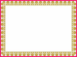 certificate border templates 35 samples csat co