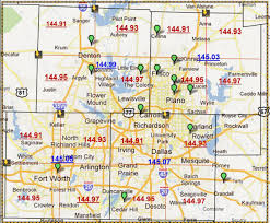 Atlanta Zip Code Map Dallas Map Maps Dallas Texas Usa