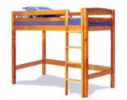 Twin Bunk Bed Designs by Loft Bed Plans Etsy