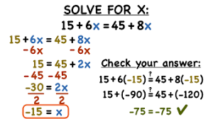 solving equations w variables on both sides lessons tes teach