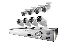 Home Security by Home Security System With 8 Cameras Hd 1080p Lorex