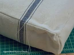 Daybed Mattress Slipcover French Mattress Cushion Tutorial U2014 August Blues