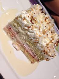 perfect tres leches cake with a thin layer of real fresh