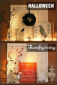 changes for the thanksgiving mantel decor that does