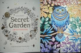 secret garden colouring book postcards secret garden artist s edition a review in the midst of madness