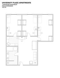 bedroom floorplan student housing columbia mo uplace