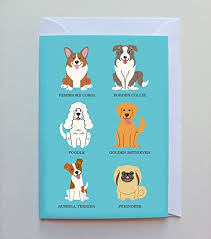 royal cats u0026 dogs british dog breeds greeting cards blank inside