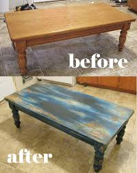 Distressed Table Aqua Table Distressing Project Fun And Fabulous