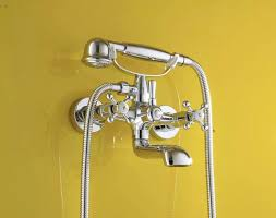 Bathroom Shower Mixer Chrome Bath Shower Faucet Wall Shower Mixer Bathroom Telephone