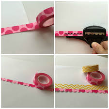 Washi Tape Designs by Scrapbooking With Washi Tape 6 Fun Ideas