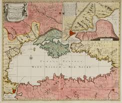 Map Of Constantinople Novelle Carte De La Mer Et Du Canal De Constantinople Tres