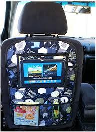 porta tablet per auto multi pocket car back seat organizer tablet pc cover