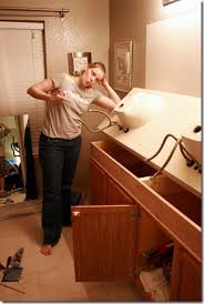 How To Remove Bathroom Vanity by How To Remove A Bathroom Vanity Bathroom Cabinet Doors