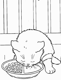 coloring pages kitten alltoys
